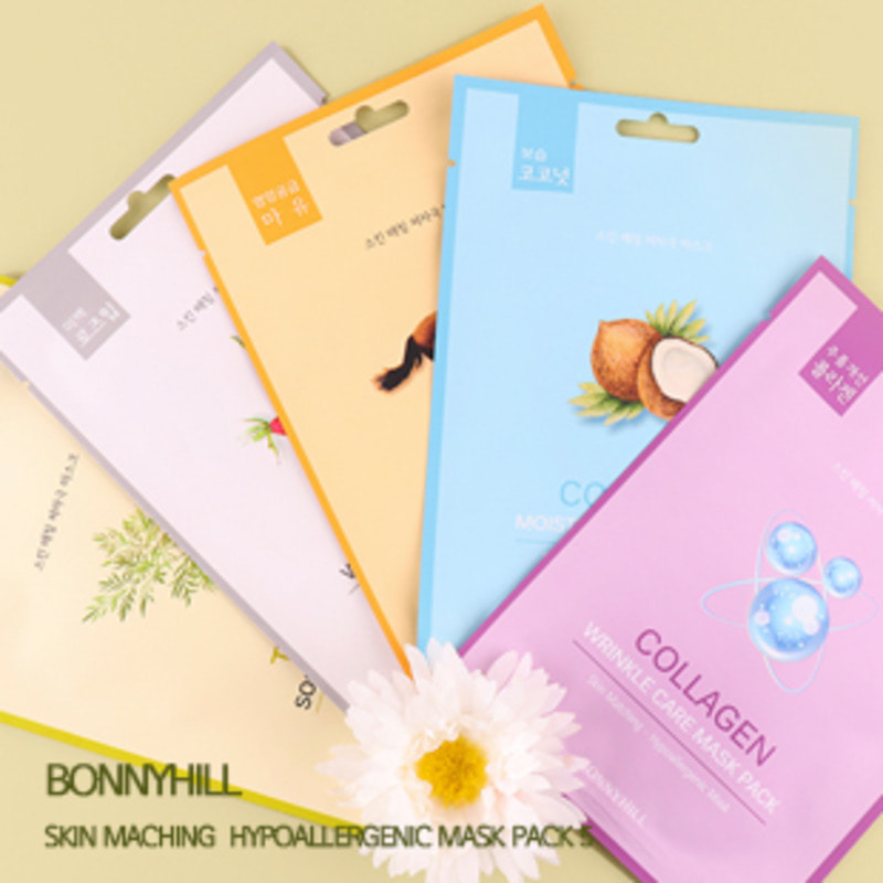 BONNYHILL Skin Maching Hypoallergenic Mask Pack 5