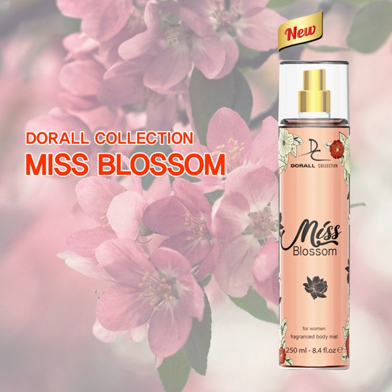 MISS BLOSSOM fragranced body mist 250ml